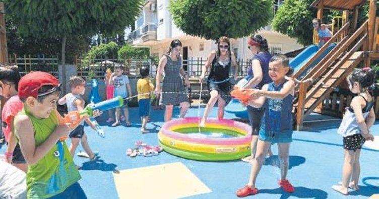 Çocukların su savaşı