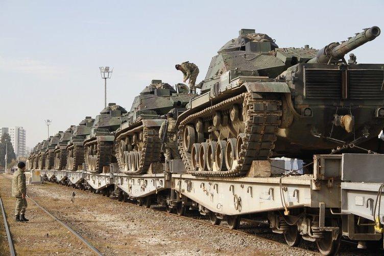 Güneydoğuya askeri sevkiyat