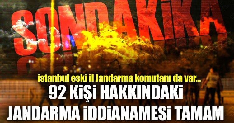 FETÖ'nün Jandarma iddianamesi tamam