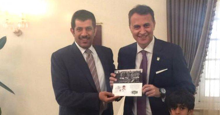 Katar'ın Ankara Büyükelçisi Salim Mübarek el-Şafi, Beşiktaş'a üye oldu