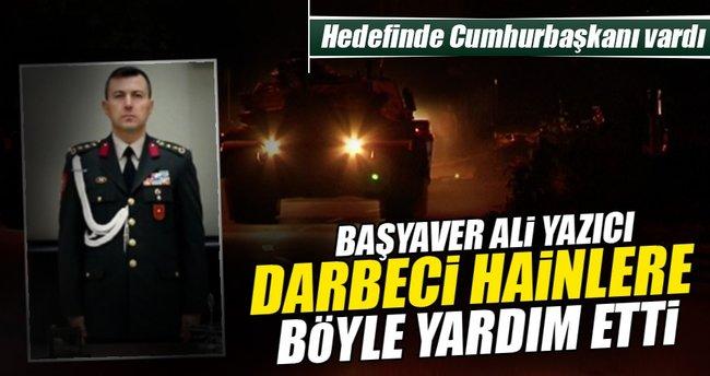 Suikast için otel bilgisini başyaver Ali Yazıcı verdi