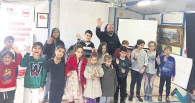 Çocuklar için drama eğitimleri başladı