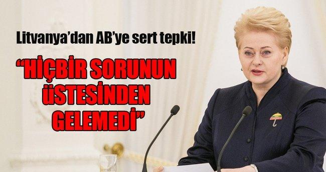 Litvanya'dan AB eleştirisi