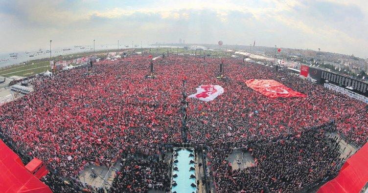 Yeni Türkiye'yi milletimizle birlikte inşa ediyoruz