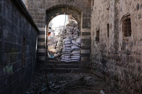 Fatihpaşa Camisi operasyonun ardından ilk kez görüntülendi