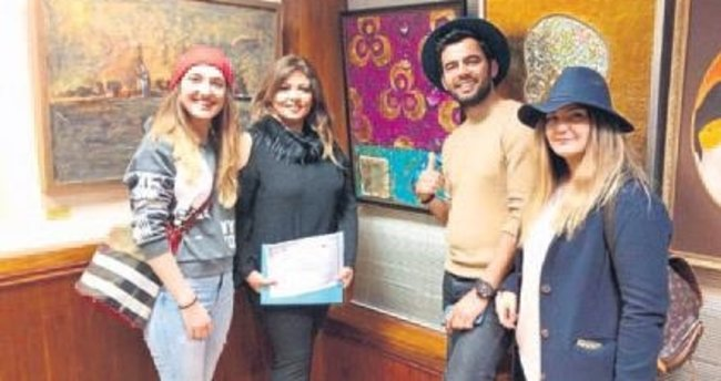 Anamurlu ressam Londra'ya açıldı