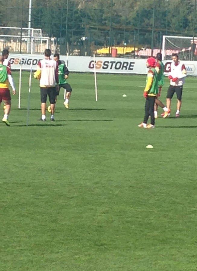Drogba Galatasaray antrenmanında