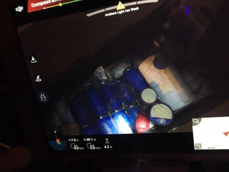 Van'da bomba yüklü kamyon son anda fark edildi
