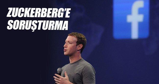 Almanya'dan Mark Zuckerberg'e soruşturma
