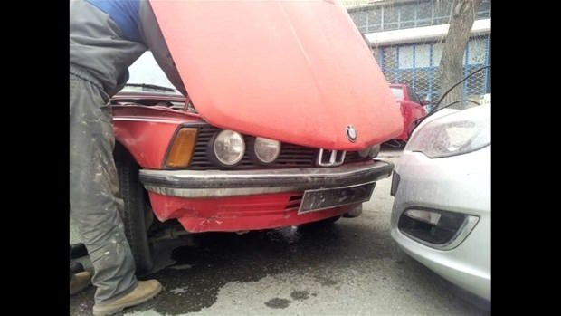 81 model BMW sıfır gibi oldu