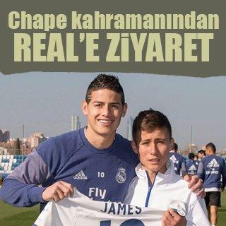 """Chapecoense kahramanı""ndan Real Madrid'e ziyaret"