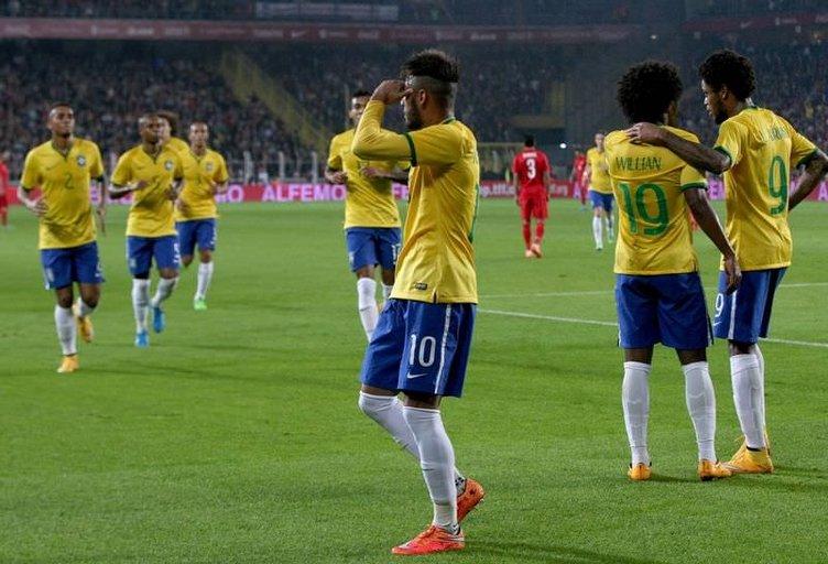 Türkiye - Brezilya maçının fotoğrafları