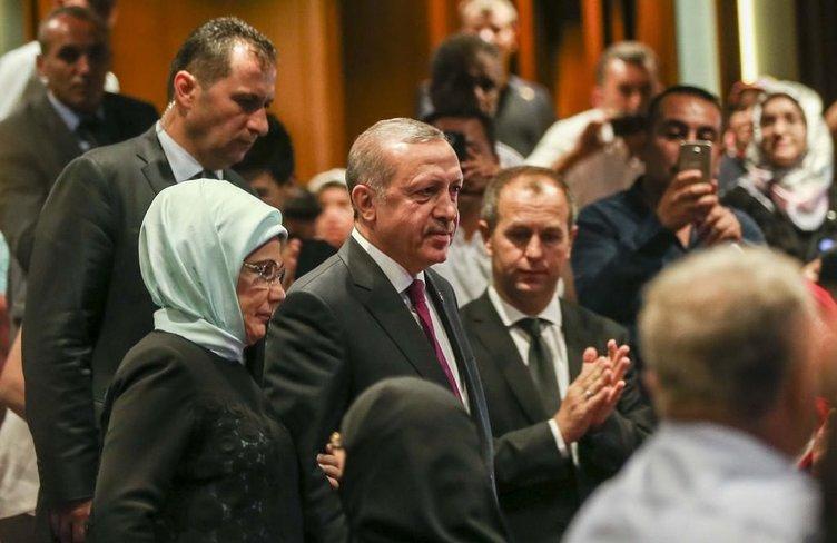Cumhurbaşkanı Erdoğan şehit çocuklarına yakın ilgi gösterdi