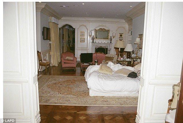 Michael Jackson'ın öldüğü oda