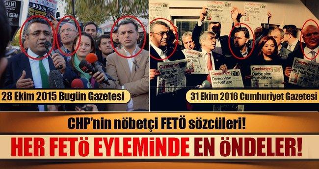 CHP'nin nöbetçi FETÖ sözcüleri