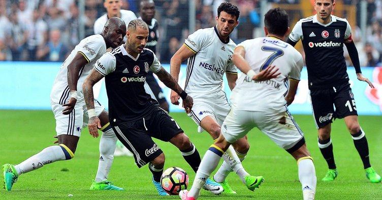 Fenerbahçe-Beşiktaş maçı öncesi 11'ler