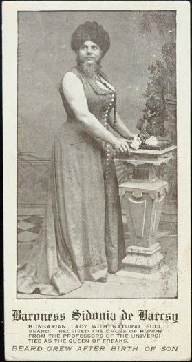 Sakallı kadınlar ve ilginç hikâyeleri