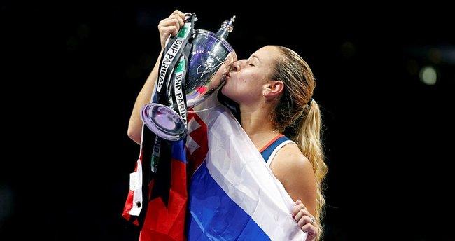 WTA'da şampiyon Cibulkova