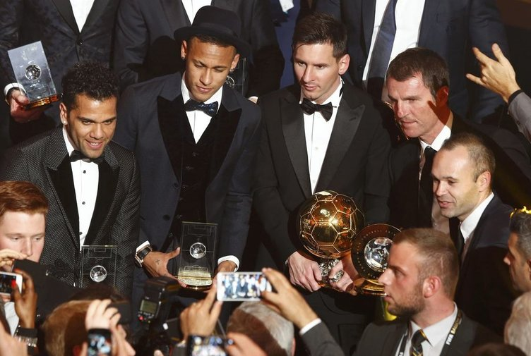 FİFA Ballon d'Or ödül gecesinden kareler
