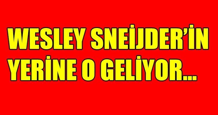 Galatasaray son dakika transfer haberleri! Wesley Sneijder'in yerine kim gelecek?