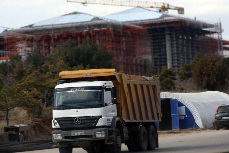 Başbakanlık binası inşaatı devam ediyor