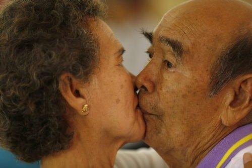 Rekor için öpüştüler