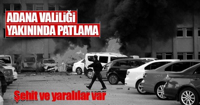 Adana Valiliği yakınlarında patlama