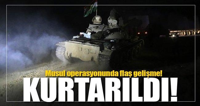Musul operasyonunda flaş gelişme!