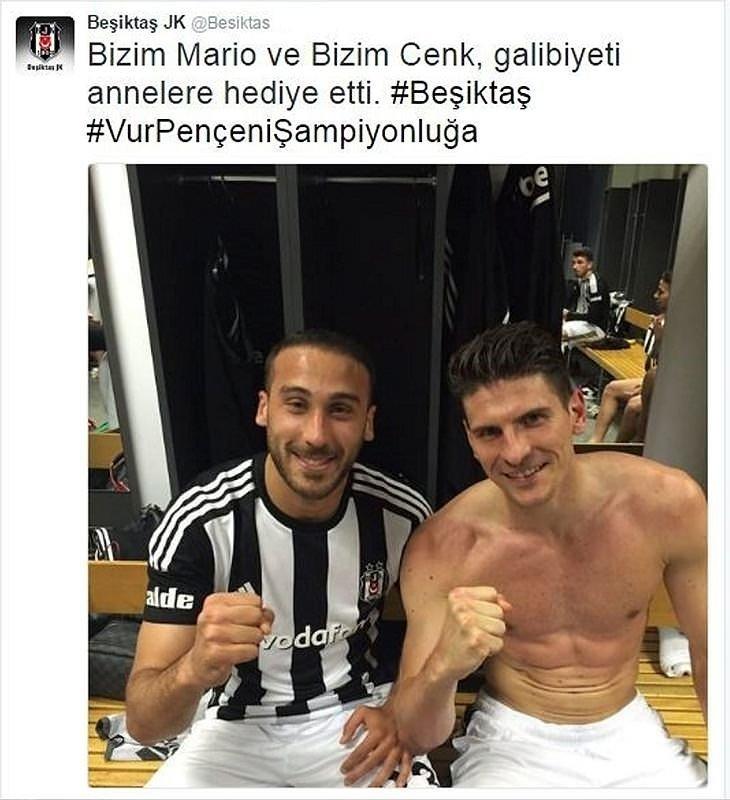 Galatasaray - Beşiktaş maçı sosyal medyayı salladı