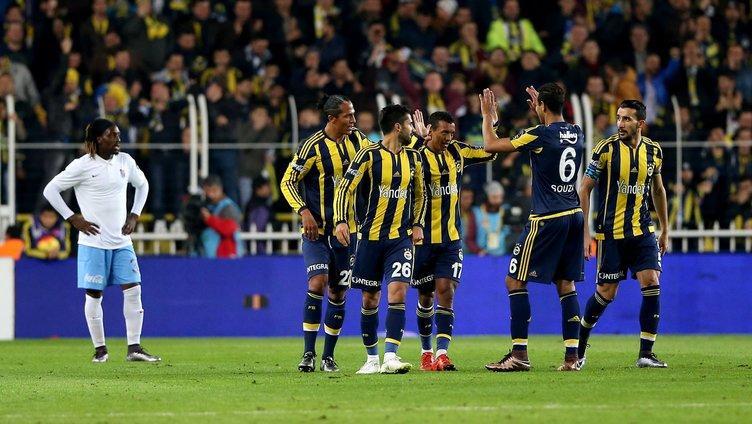 Fenerbahçe Trabzonspor maçının kareleri