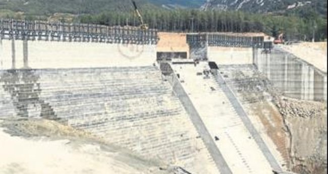 Kapıçay Barajı sona yaklaştı