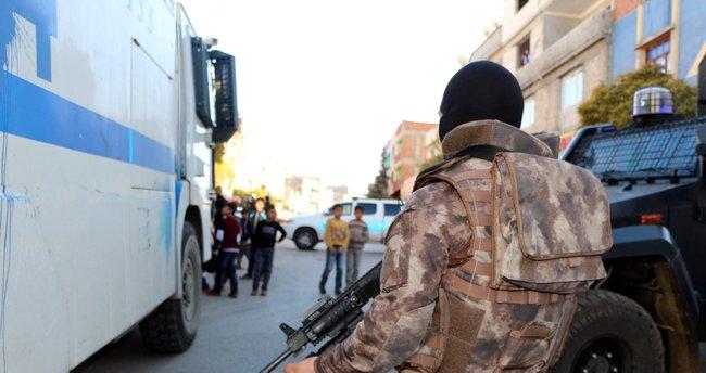 Gaziantep'te, 300 polisle PKK operasyonu