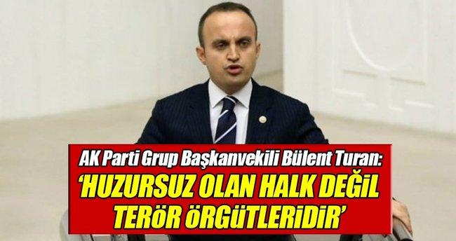 AK Parti Grup Başkanvekili Turan'dan OHAL açıklaması!
