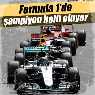 Rosberg ilk şampiyonluğuna çok yakın