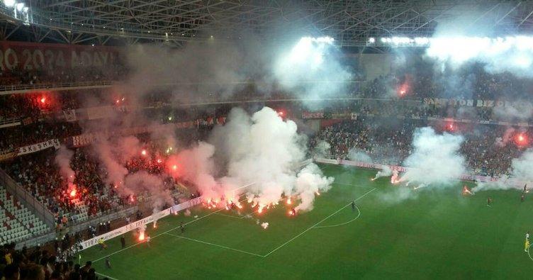 Göztepe - Eskişehirspor maçına ağır fatura
