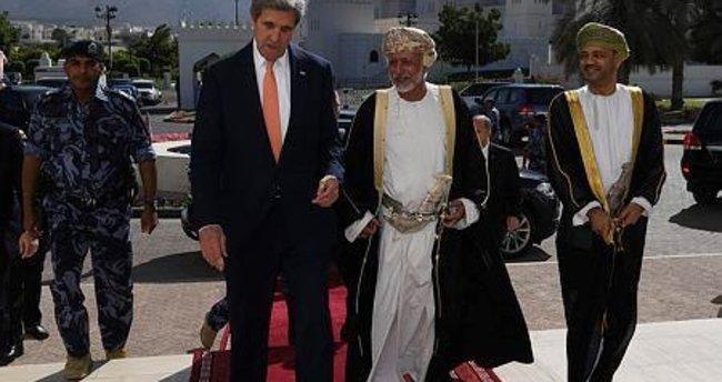 ABD Dışişleri Bakanı Kerry, Umman'da