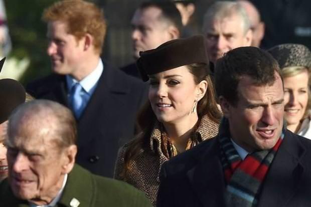 Kate Middleton ve Prens William Noel kutlamasında