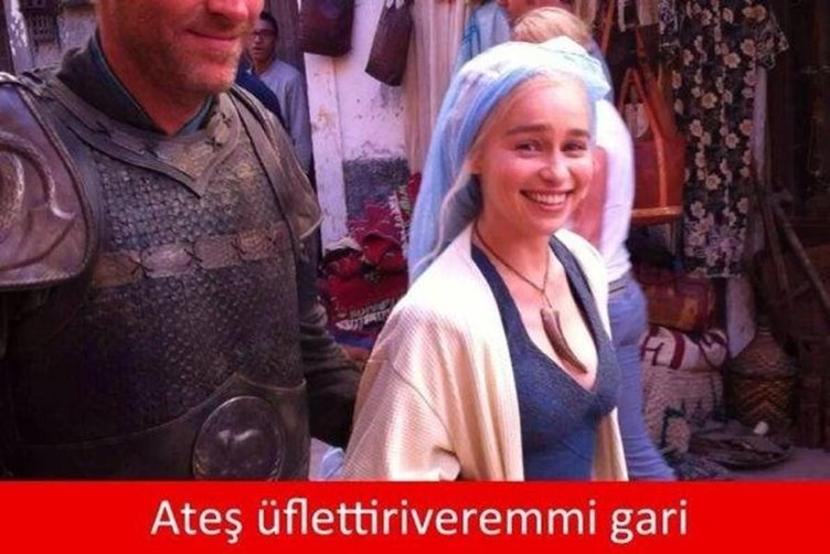Game of Thrones'un Türkiye versiyonu