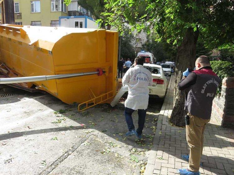 Kadıköy'de feci kaza!