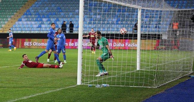 Rizespor'dan gol yağmuru