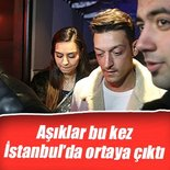 Mesut Özil ile Amina Gülşe İstanbul'da