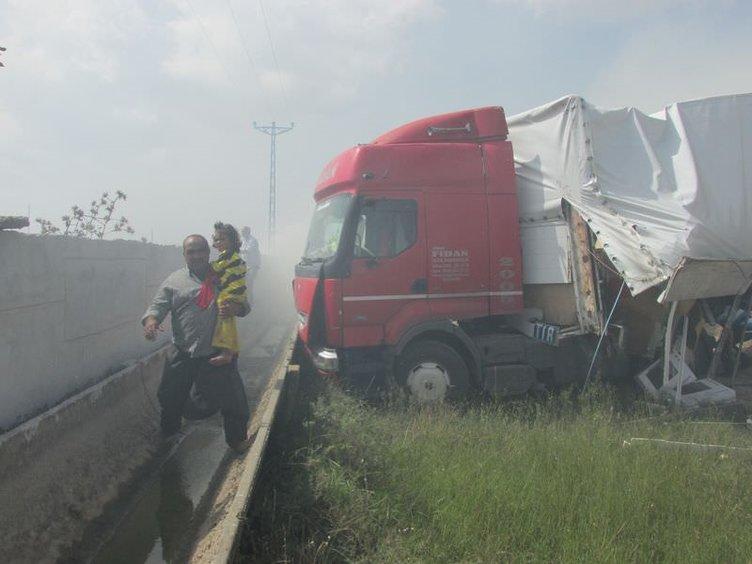 Adana'da zincirleme trafik kazası