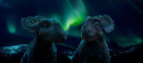 Dinozorlarla Yürümek filminden kareler