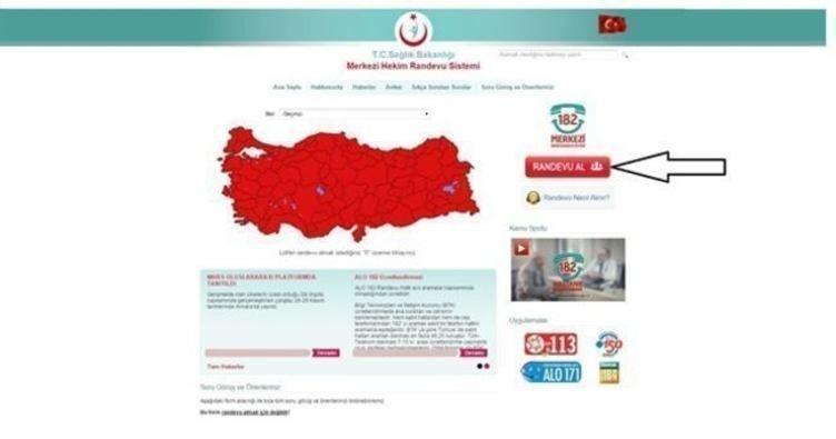 MHRS ile internetten online randevu alma!-  İşte MHRS randevu sistemi