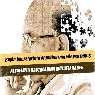 Alzheimer hastalarına müjdeli haber