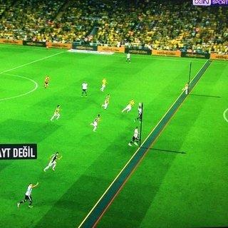 Negredo'nun golü 77 cm...