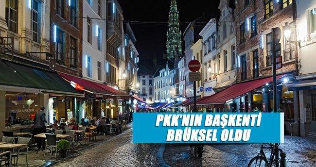 PKK'nın başkenti Brüksel oldu