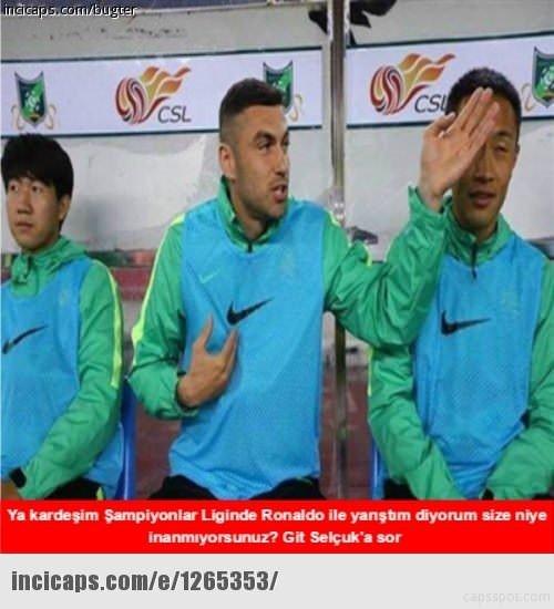 Türkiye - Çek Cumhuriyeti maçı capsleri
