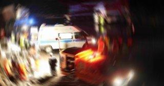 Ankara'da yolcu otobüsü ile kamyon çarpıştı: 11 yaralı