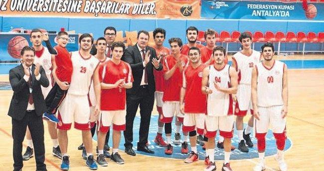 Antalyaspor'un pota hakimiyeti
